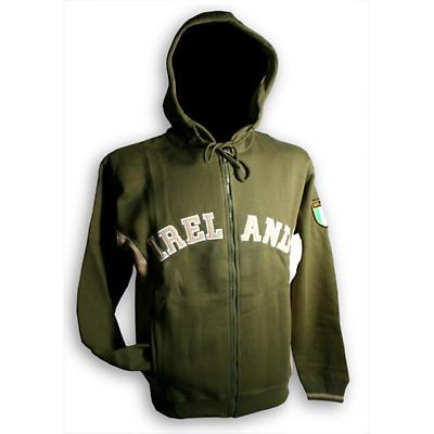 Ireland Hooded Zip Jacket