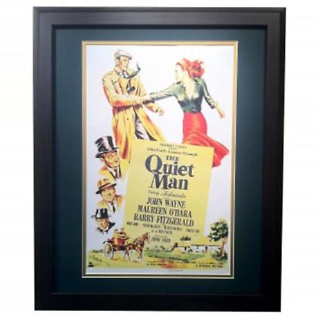 """""""The Quiet Man"""" - Matted and Framed Print"""
