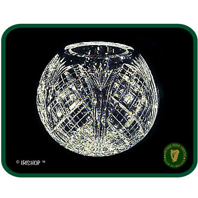 Irish Crystal - Heritage Irish Crystal 6 inch Rose Bowl