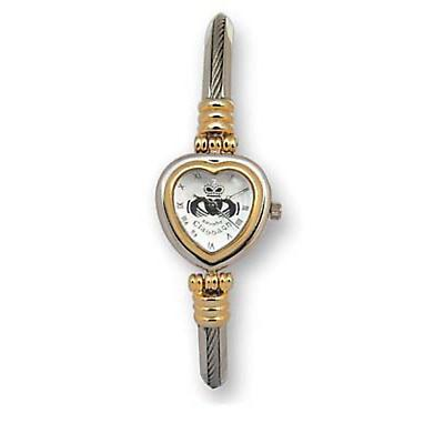 'Ciwa' Claddagh Heart Bracelet Watch