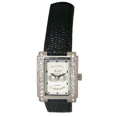 'Cera' Claddagh with Crystals Watch