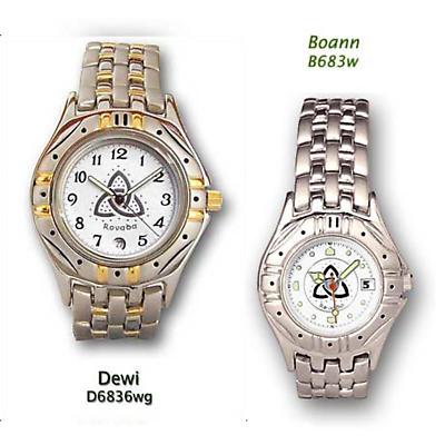 'Dewi and Boann' Trinity Knot Wedding Watches