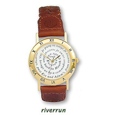 James Joyce Riverrun Watch