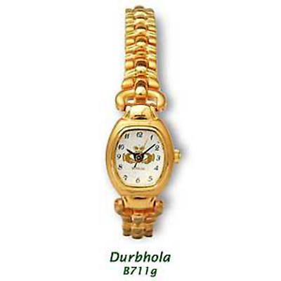"""Durbhola"" Gold Plated Claddagh Watch"