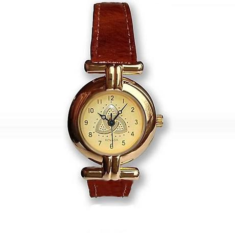 Ladies Trinity Knot Watch - Gold Plated 'Dana'