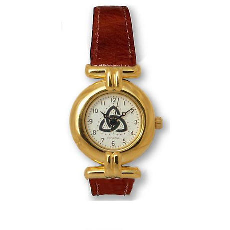 Ladies Trinity Knot Watch - Gold Plated 'Sinann'
