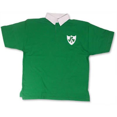 Ireland Short Sleeved Rugby Shirt