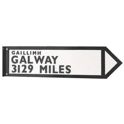 Personalized Full-Size Irish Road Sign