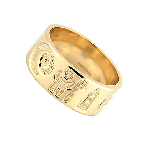 Irish Ring - 14k Gold History of Ireland