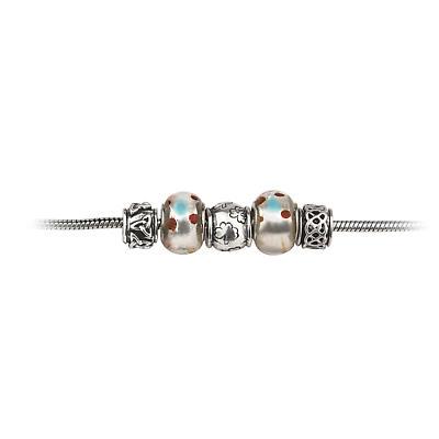 Celtic Bracelet - Irish Wishing Bead Celtic Bracelet with 5 Beads