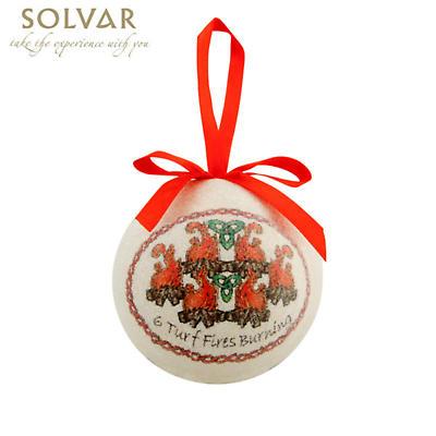 Irish Christmas Ornaments - 12 Days of Celtic Christmas Bauble Set