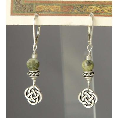 Celtic Earrings - Sacred Numbers Earrings