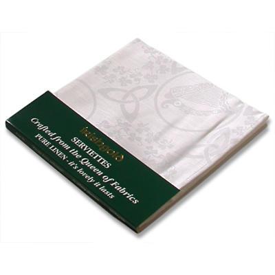 Set of Four Irish Linen Serviettes/Napkins
