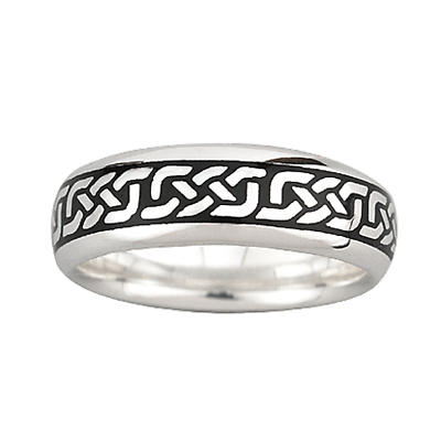 Celtic Ring - Ladies Sterling Silver Celtic Knot