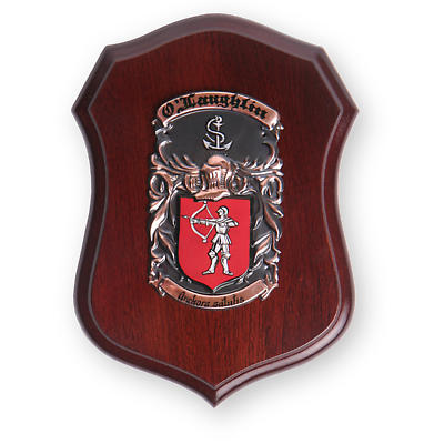 Personalized Coat of Arms Deluxe Plaque