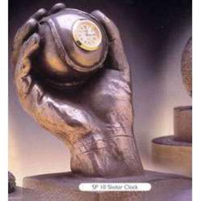 Rynhart Bronze Clock - The Sliotar Clock by Jeanne Rynhart