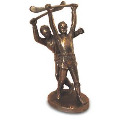 Rynhart Bronze Sculpture - Clash of The Ash Sculpture by Jeanne Rynhart