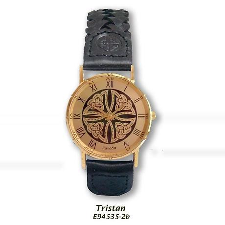 Irish Watch - Tristan Mens Celtic Knot Gold Plated Watch