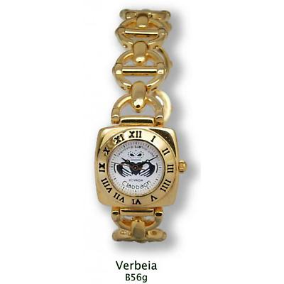 'Verbeia' Gold Plated Claddagh Watch