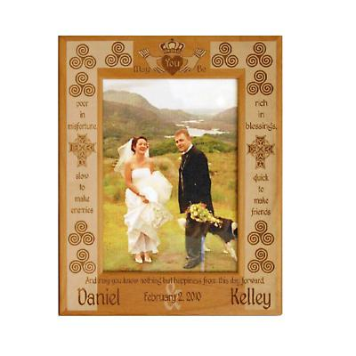 Personalized Irish Marriage Blessing Frame