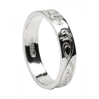 Celtic Ring - Men's 'Le Cheile' Celtic Wedding Ring