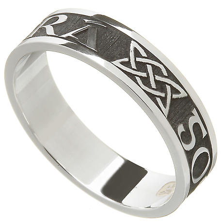 Irish Ring - Ladies Gra Go Deo 'Love Forever' Irish Wedding Ring
