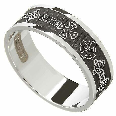 Celtic Ring - Men's Celtic Cross Ring