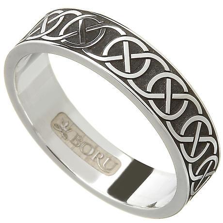 Celtic Ring - Ladies Celtic Knot Wedding Ring