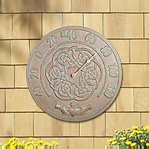 Irish Blessings Thermometer - Copper Verdigris