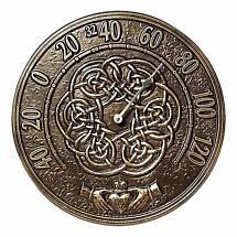 Irish Blessings Thermometer - French Bronze