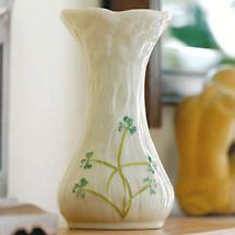 Belleek Vase - Daisy Spill