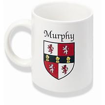 Personalized Irish Coat of Arms Mug