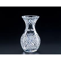 "Irish Crystal - Heritage Crystal 8"" Violet Vase"