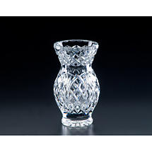 "Irish Crystal - Heritage Crystal 7"" Oak Vase"