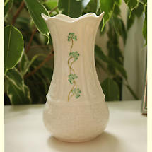 "Belleek Vase -  7"" Kells"