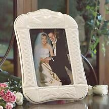 Belleek Claddagh 5 x 7 Frame
