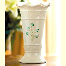 "Belleek Vase - 10"" Tara"