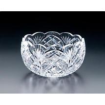 Irish Crystal - Heritage Irish Crystal 9 inch Cathedral Scalloped Bowl
