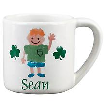Personalized 8 oz. Irish Kids Mug