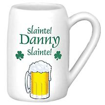 Personalized 22 oz. Slainte Beer Stein