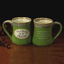 """'Tis a Blessing"" Pottery Mug"