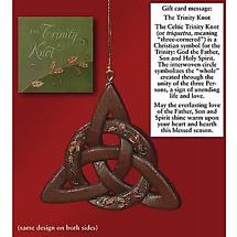 Irish Christmas - Trinity Knot Ornament and Card