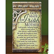 Irish Mother Plaque