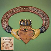 Claddagh Wall Hanging and Card