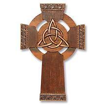 Trinity Knot Wall Cross and Card