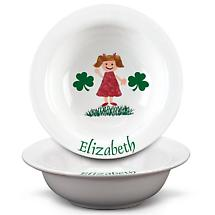 Personalized Irish Kids Cereal Bowl