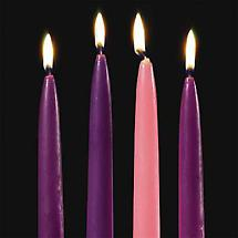 Irish Christmas - Replacement Taper Candles - Set of Four