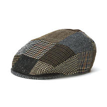Vintage Irish Patchwork Tweed Cap