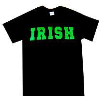 """Irish T-Shirt - """"Irish"""" with Glitter"""