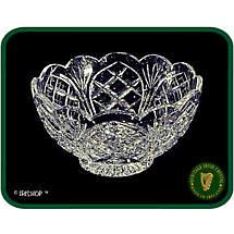 Irish Crystal - Heritage Crystal 7 inch Scalloped Bowl